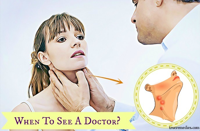 home remedies for swollen glands - when to see a doctor