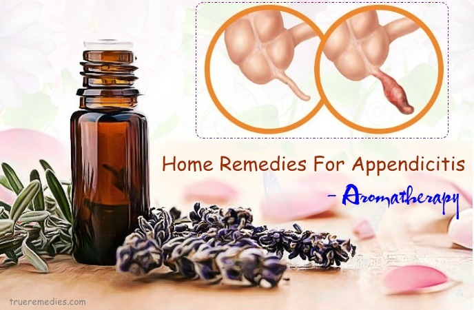 home remedies for appendicitis - aromatherapy