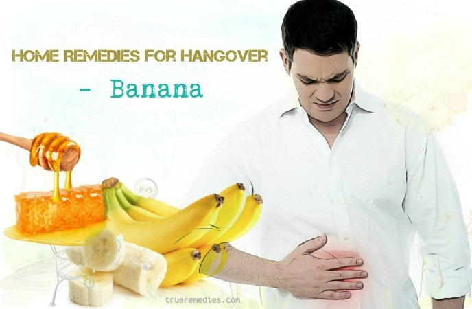 home remedies for hangover - banana