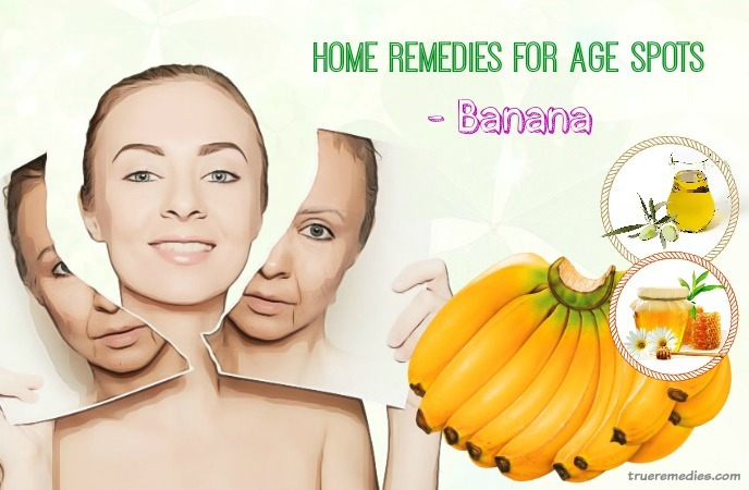 home remedies for age spots - banana