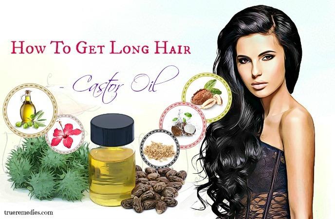 how to get long hair - castor oil