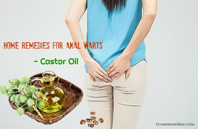 home remedies for anal warts - castor oil