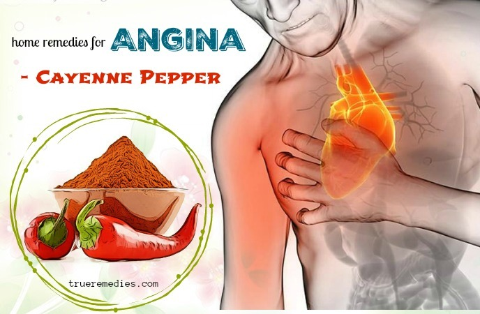 home remedies for angina - cayenne pepper