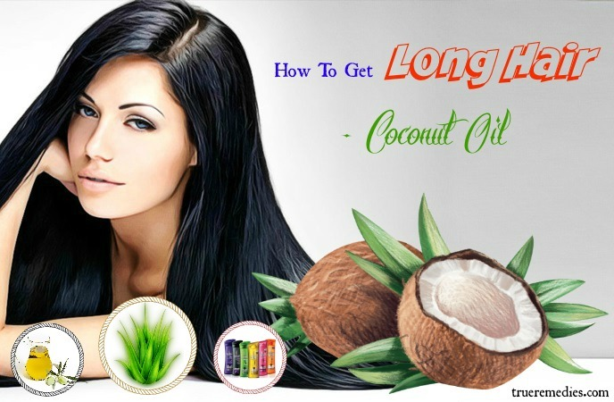 how to get long hair - coconut oil