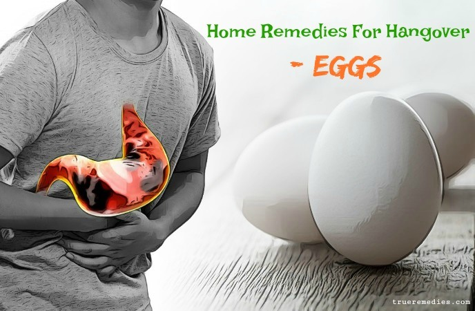 home remedies for hangover - eggs