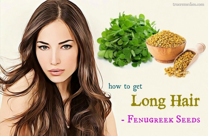 how to get long hair - fenugreek seeds