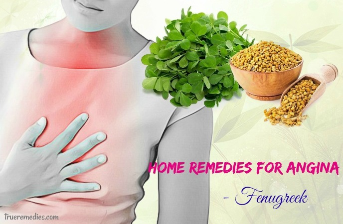 home remedies for angina - fenugreek