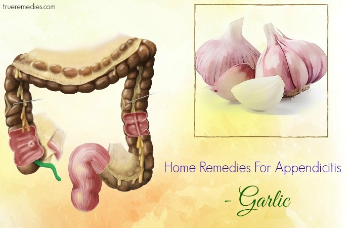 home remedies for appendicitis - garlic