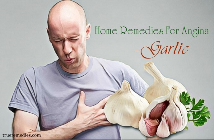 home remedies for angina - garlic