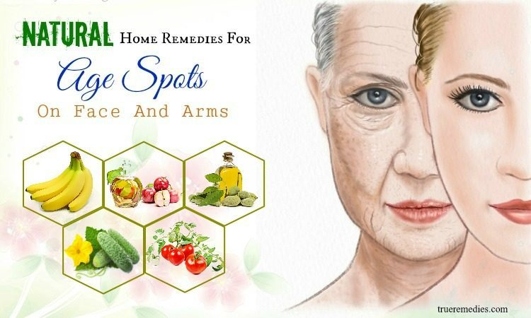 home remedies for age spots on arms