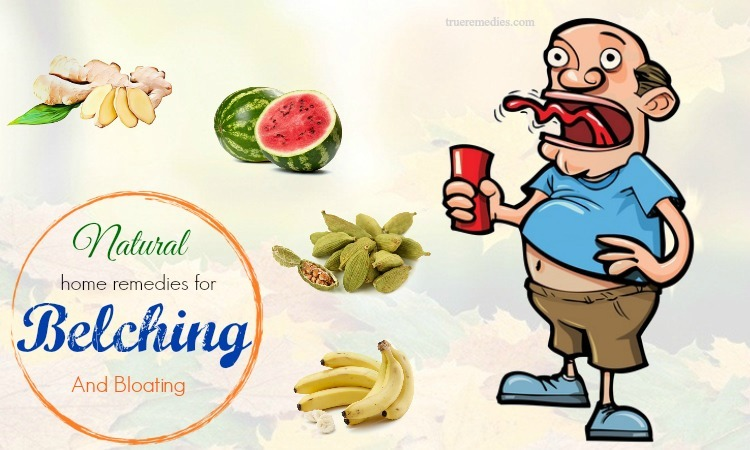 natural home remedies for belching