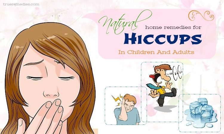 natural home remedies for hiccups