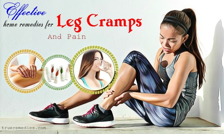 effective home remedies for leg cramps