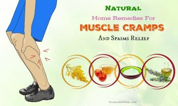 natural home remedies for muscle cramps