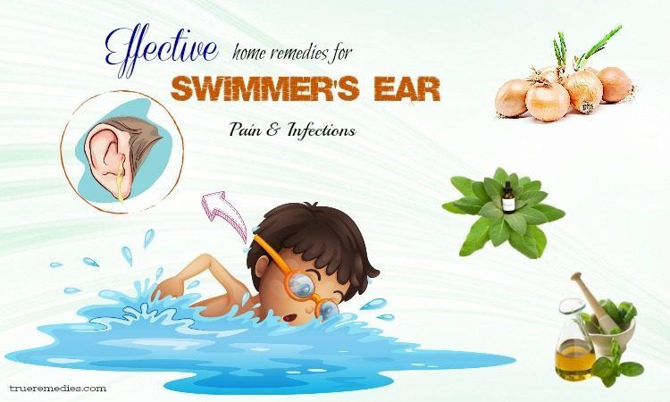 home remedies for swimmer's ear infections