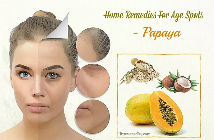home remedies for age spots - papaya