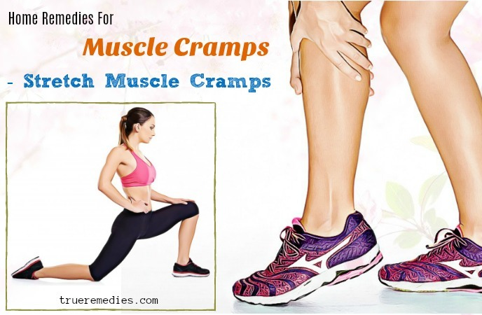 home remedies for muscle cramps - stretch muscle cramps