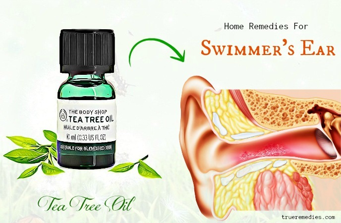 home remedies for swimmer's ear - tea tree oil