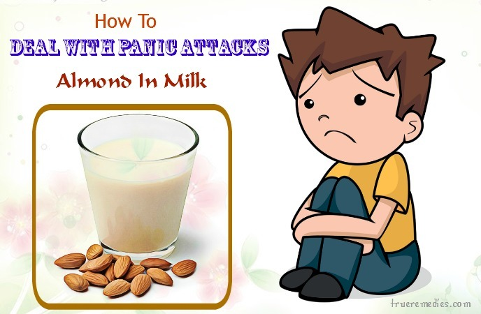 how to deal with panic attacks - almond in milk