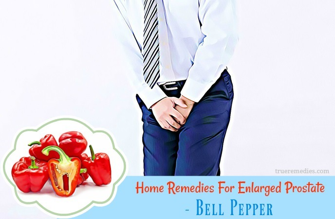 natural home remedies for enlarged prostate - bell pepper