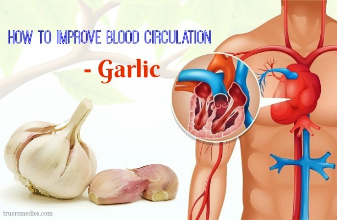 how to improve blood circulation - garlic