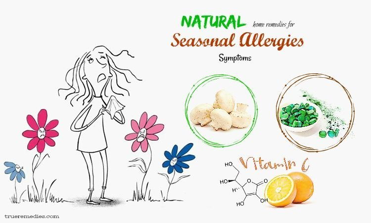 natural home remedies for seasonal allergies