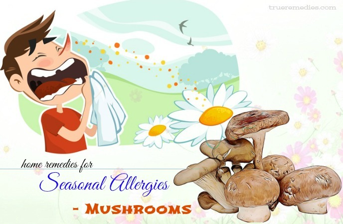 home remedies for seasonal allergies - mushrooms