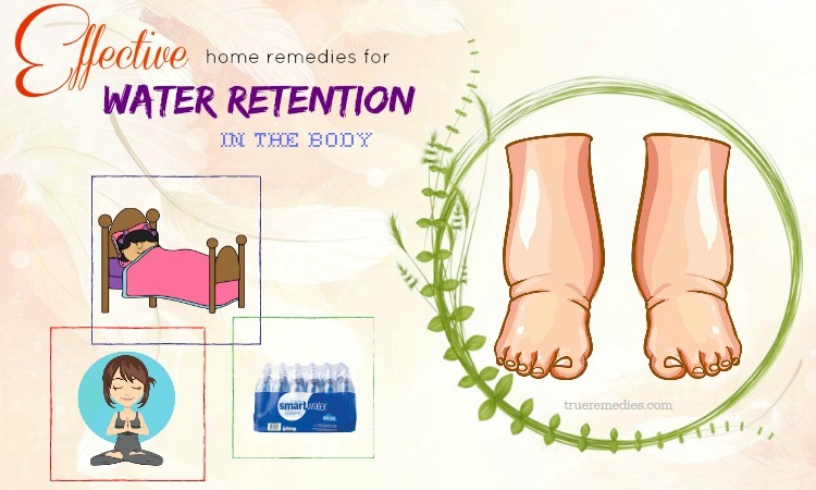 effective home remedies for water retention