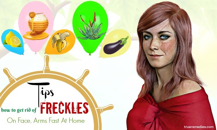 how to get rid of freckles on face