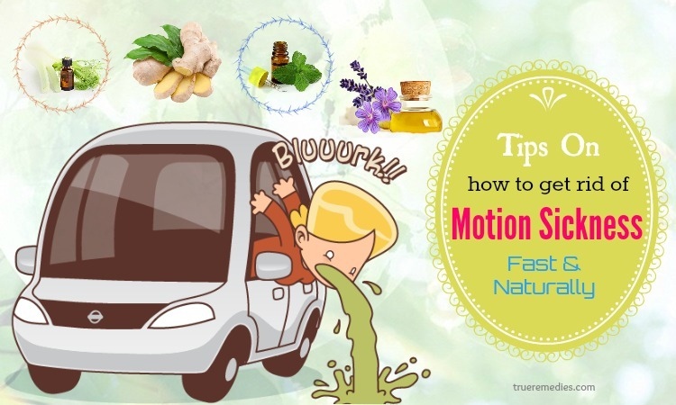 tips on how to get rid of motion sickness