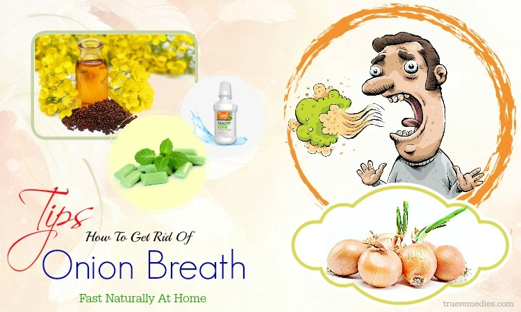 tips on how to get rid of onion breath