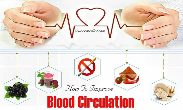 tips on how to improve blood circulation