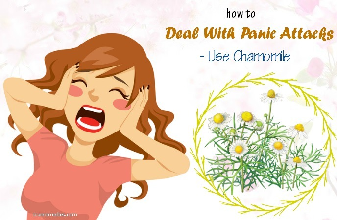 how to deal with panic attacks at shool - use chamomile