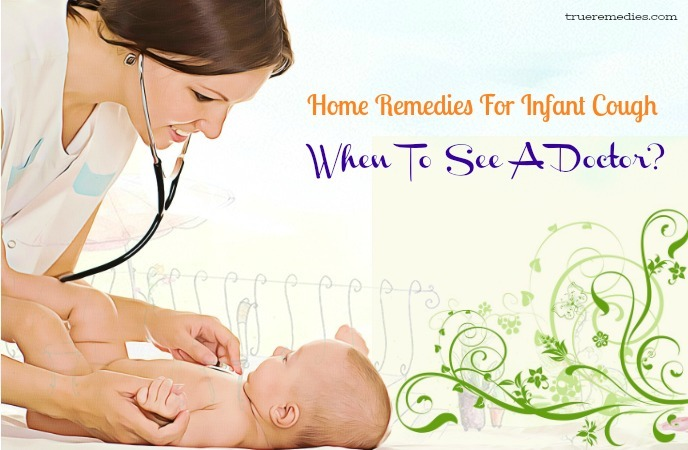home remedies for infant cough - when to see a doctor
