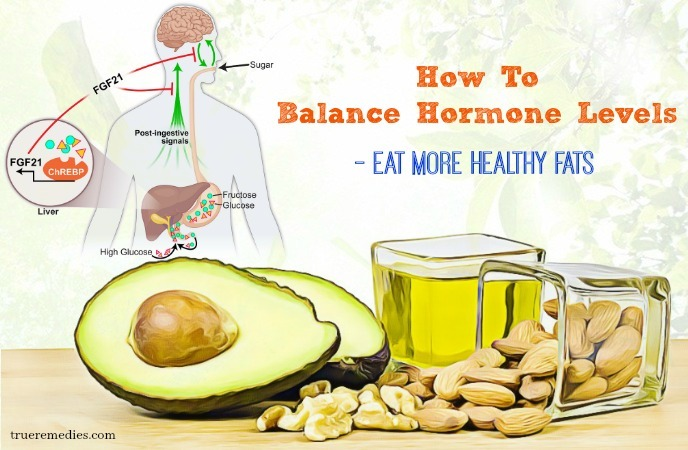 tips on how to balance hormone levels - eat more healthy fats