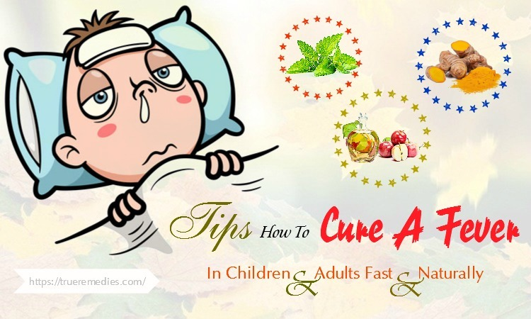how to cure a fever in adults
