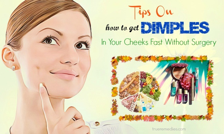 how to get dimples in your cheeks