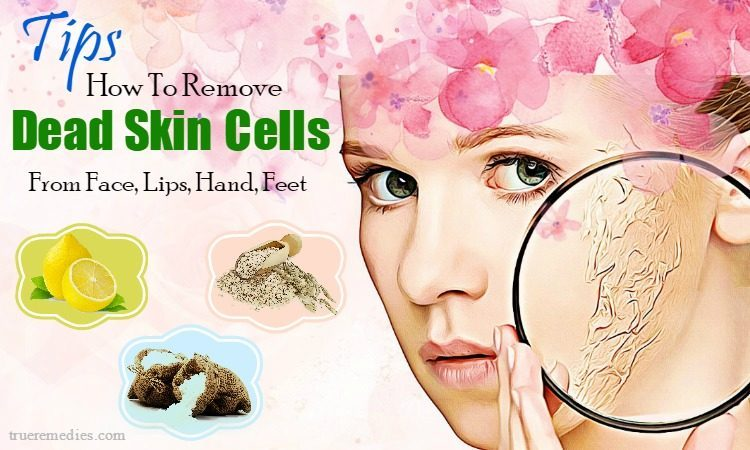 how to remove dead skin cells from lips
