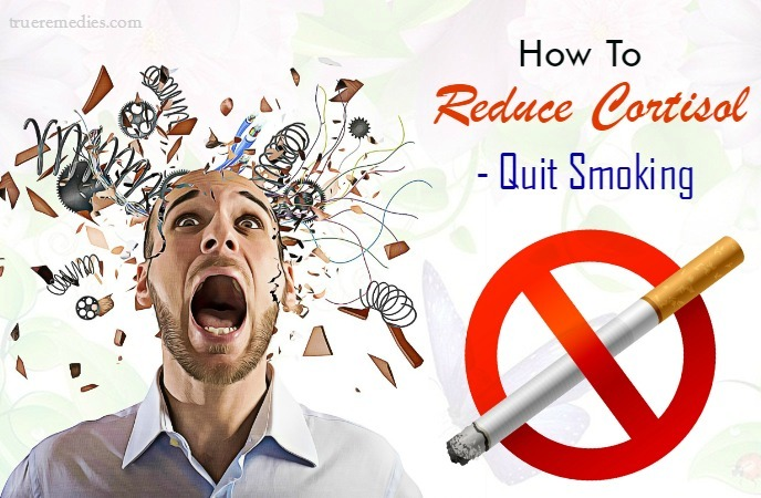 tips on how to reduce cortisol - quit smoking