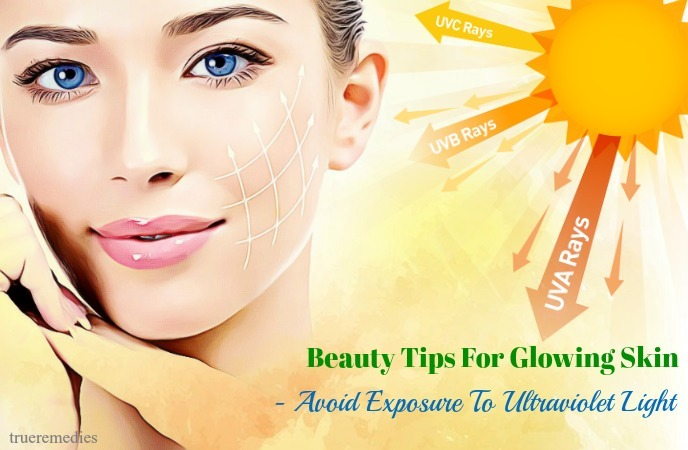 avoid exposure to ultraviolet light