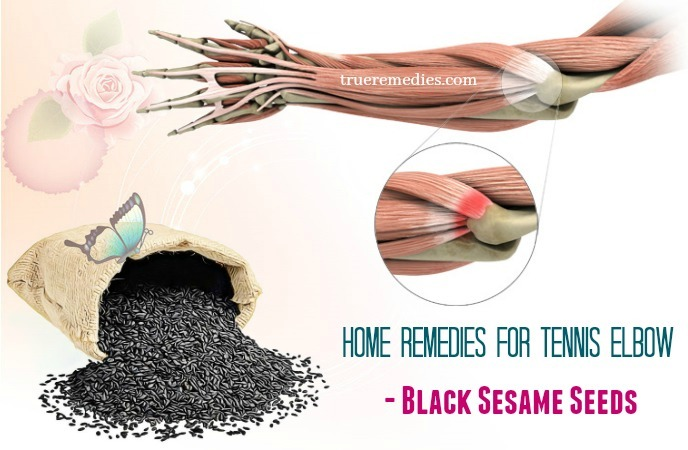 home remedies for tennis elbow - black sesame seeds
