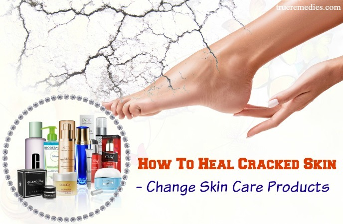 how to heal cracked skin on hands - change skin care products