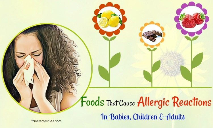 foods that cause allergic reactions in children