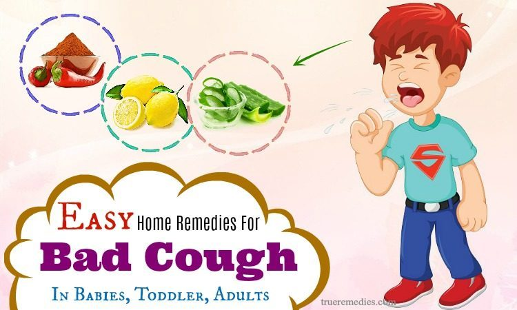 natural home remedies for bad cough