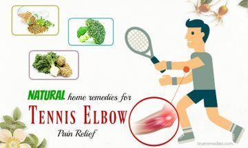 home remedies for tennis elbow pain