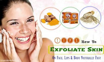 how to exfoliate skin on face