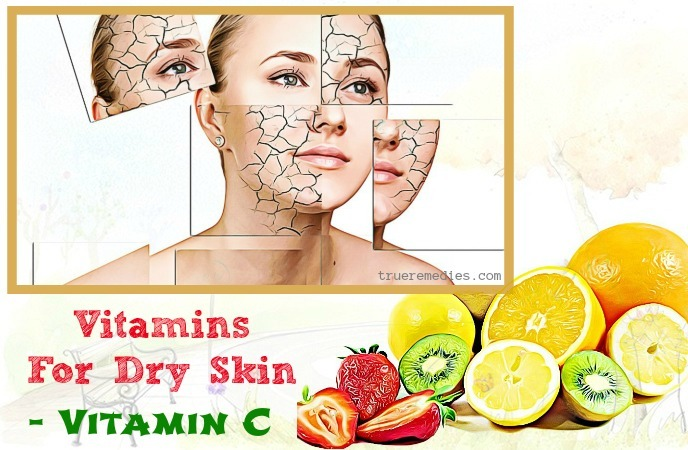 vitamins for dry skin in winter - vitamin c
