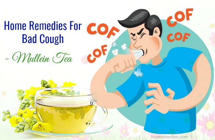 home remedies for bad cough - mullein tea