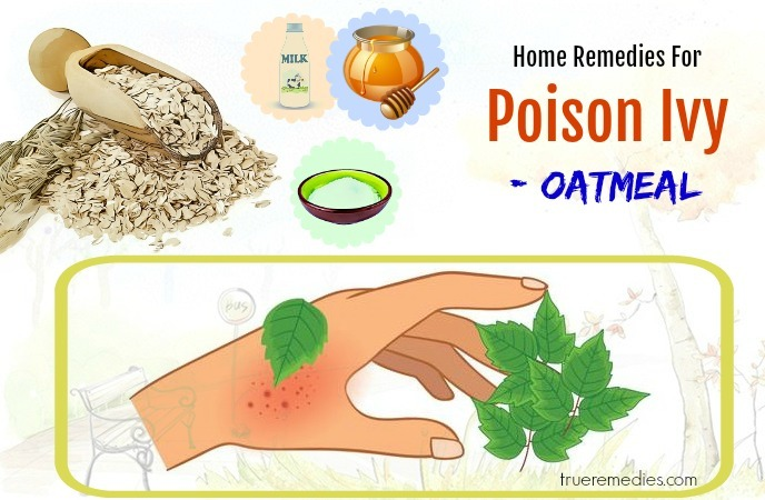 home remedies for poison ivy pain - oatmeal