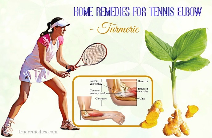 natural home remedies for tennis elbow - turmeric